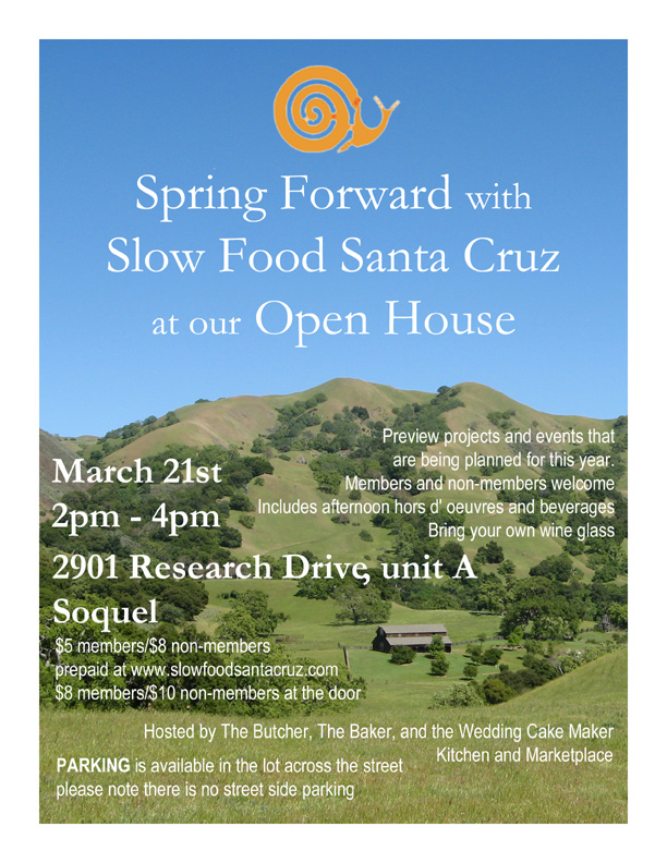 Spring Forward with SFSC Flyer