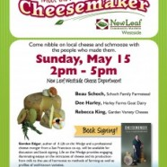 Meet your local cheesemakers – Free event to celebate each of these amazing cheesemakers.